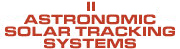 astronomic solar tracking systems